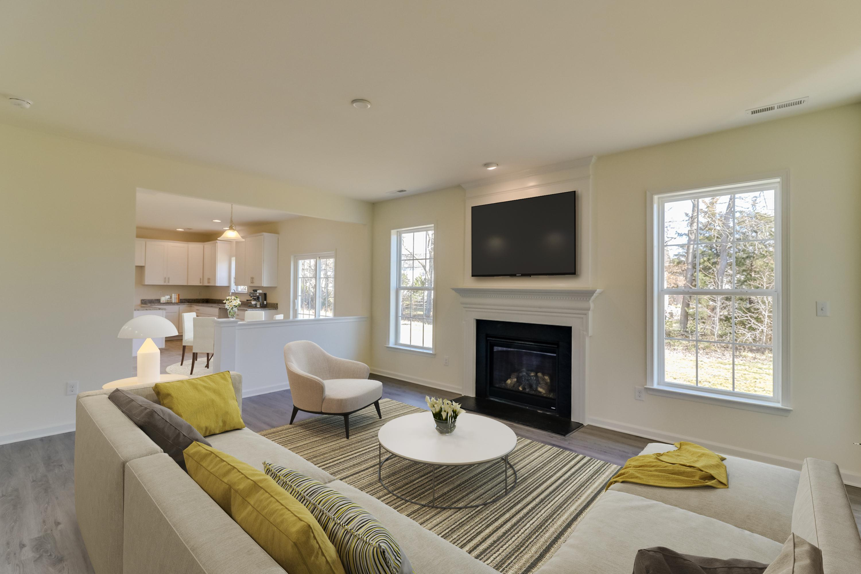 Living Area featured in The Burlington By Ashburn Homes in Dover, DE