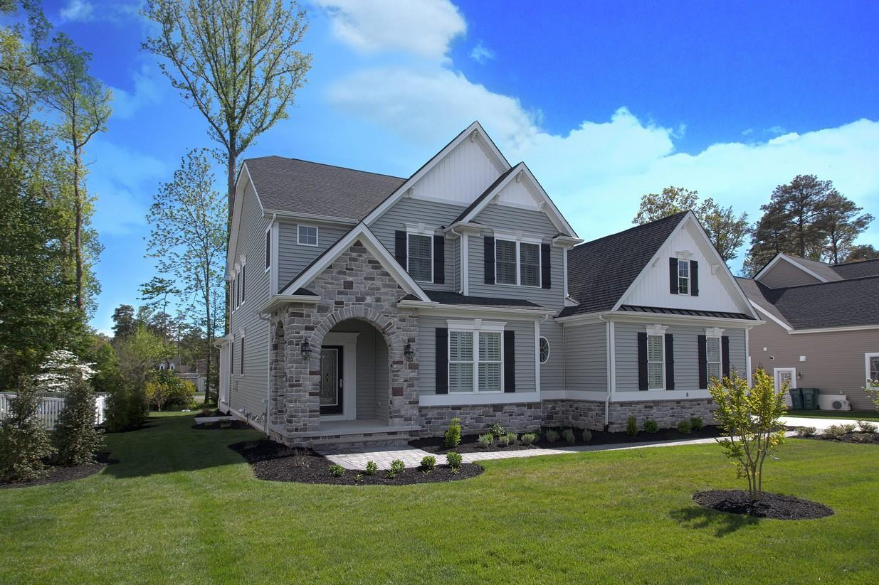 Exterior featured in The Georgetown By Ashburn Homes in Dover, DE