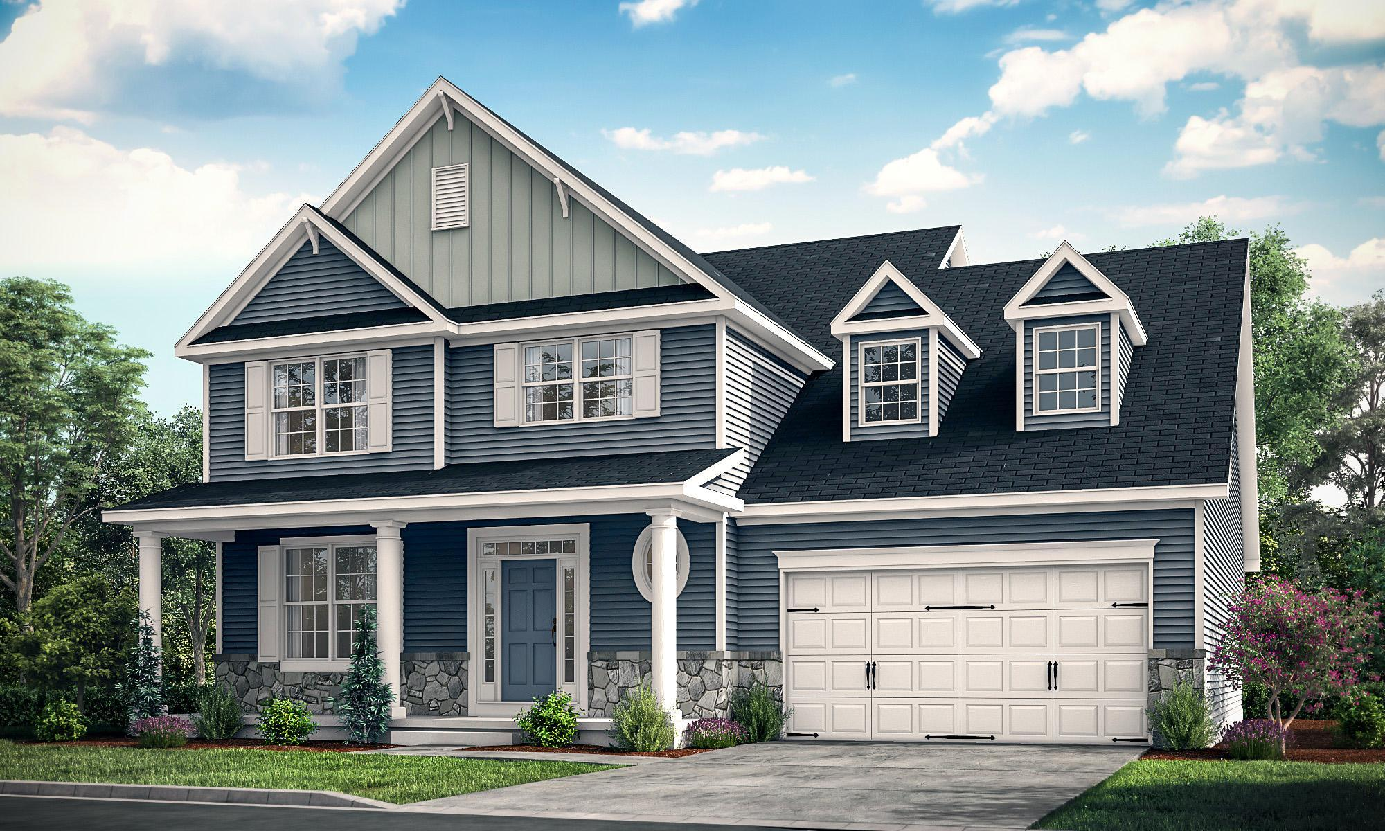 Exterior featured in The Rehoboth By Ashburn Homes in Dover, DE
