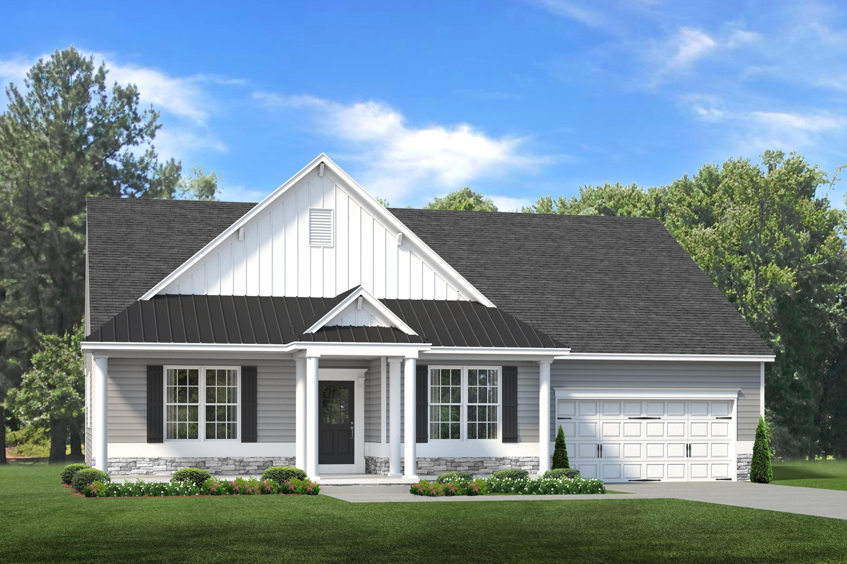 Exterior featured in The Ocean View By Ashburn Homes in Sussex, DE