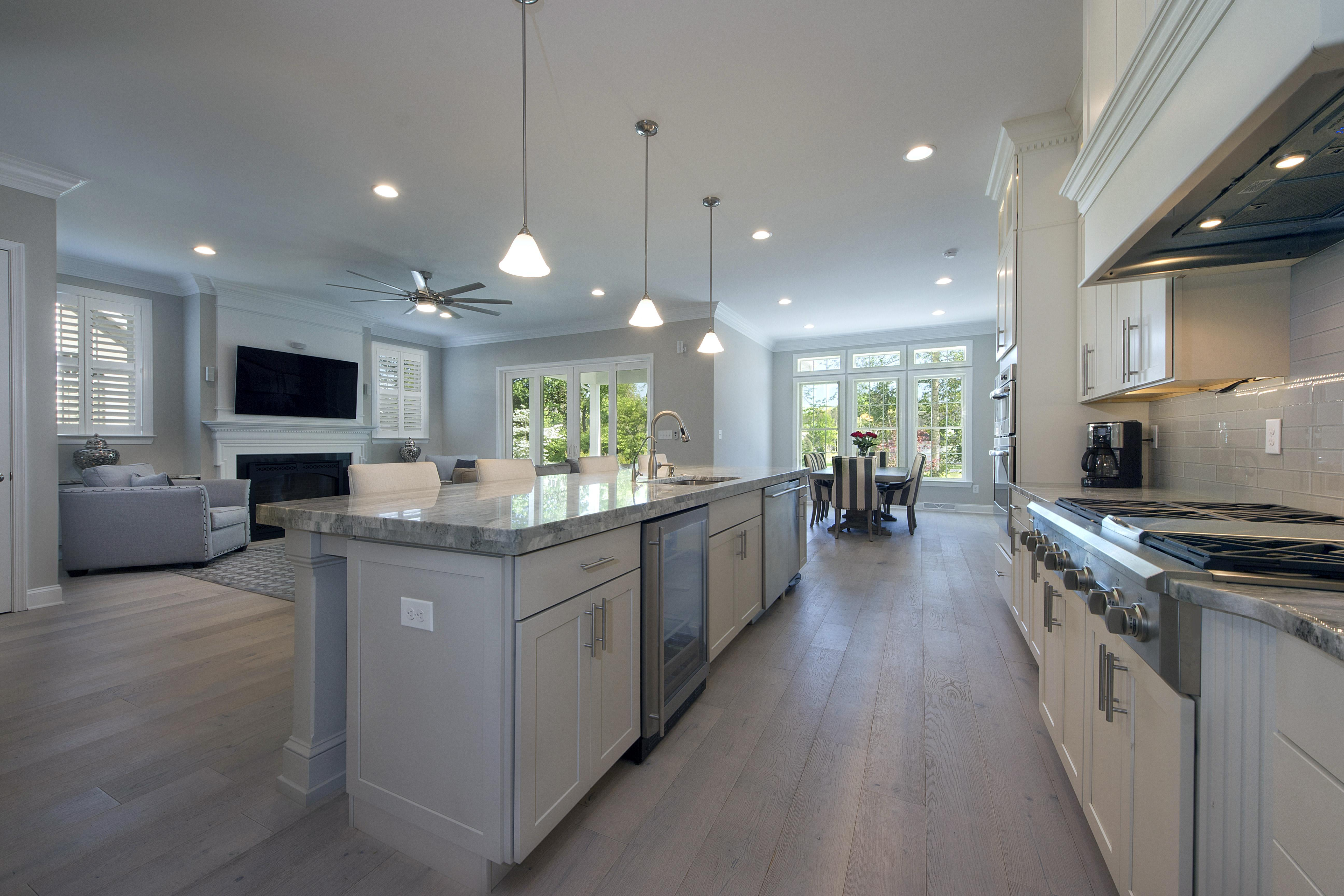 Kitchen featured in The Georgetown By Ashburn Homes in Sussex, DE