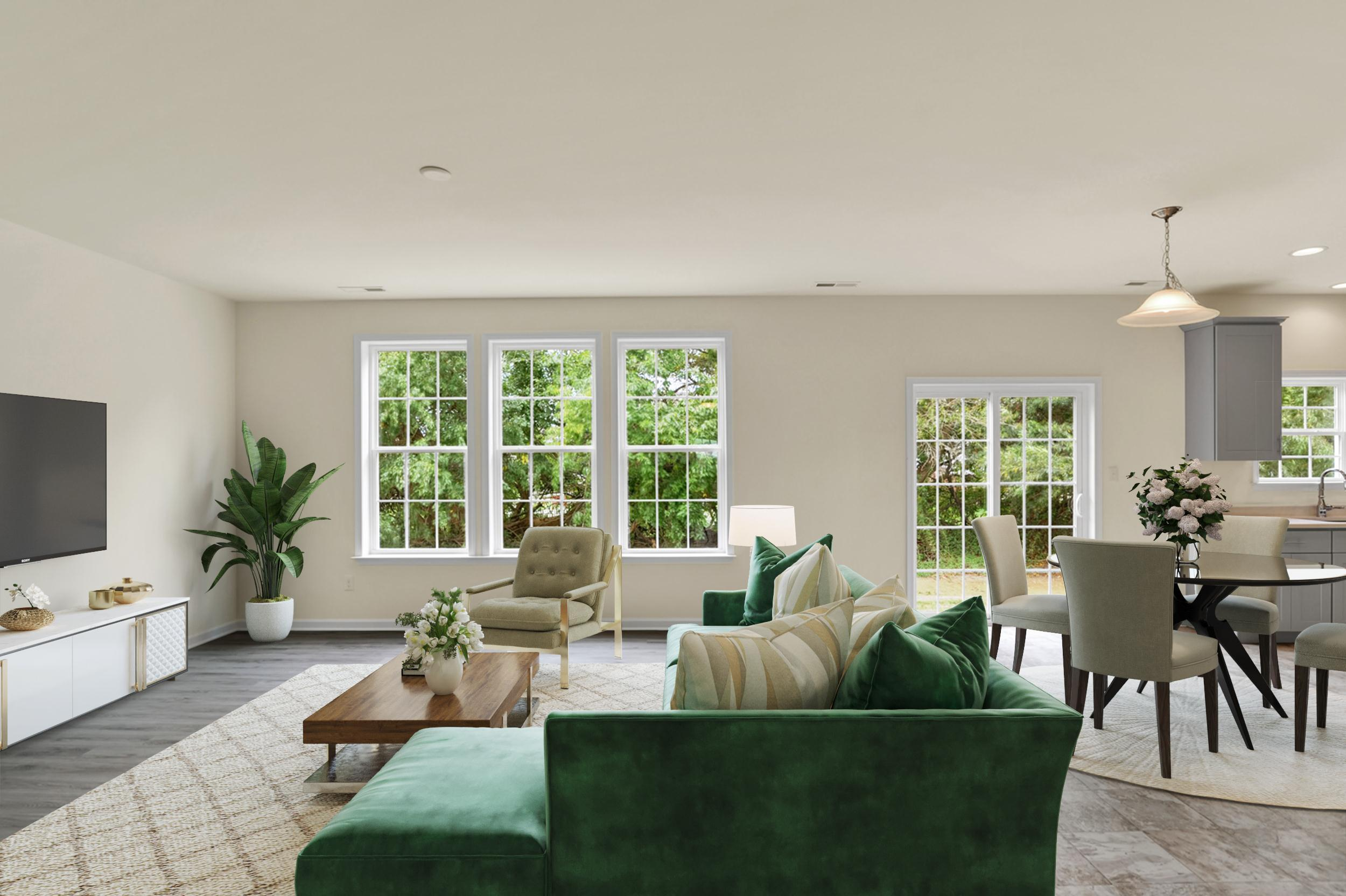 Living Area featured in The Wyoming By Ashburn Homes in Dover, DE