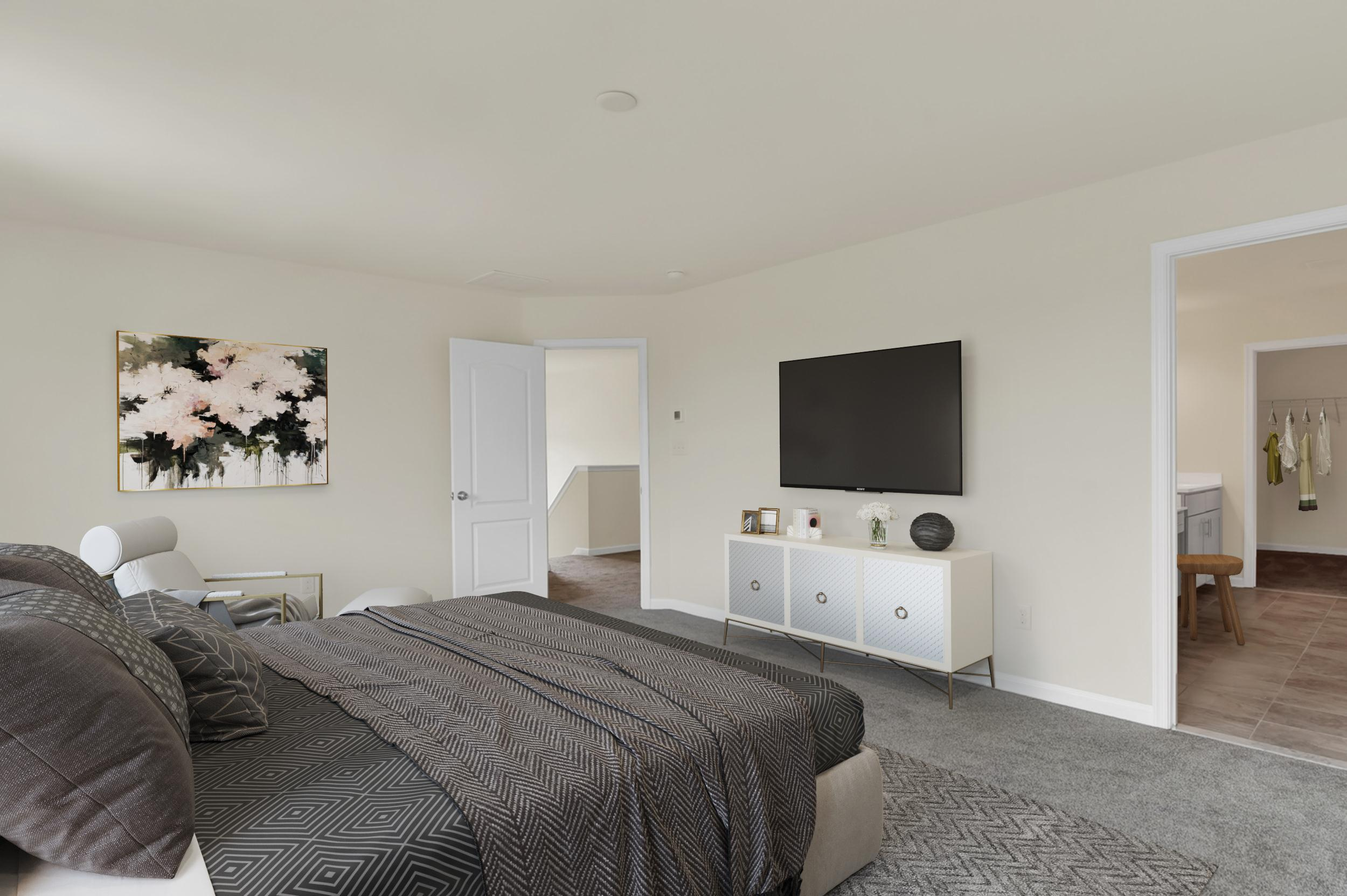 Bedroom featured in The Wyoming By Ashburn Homes in Dover, DE
