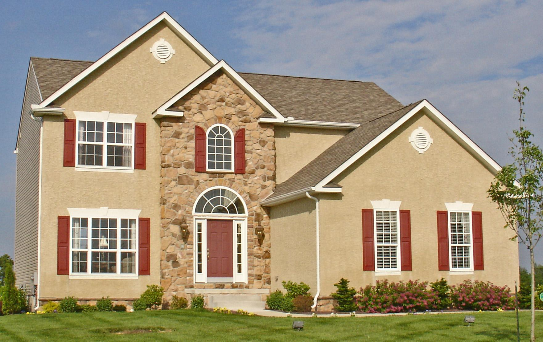 Exterior featured in The Hampshire By Ashburn Homes in Sussex, DE