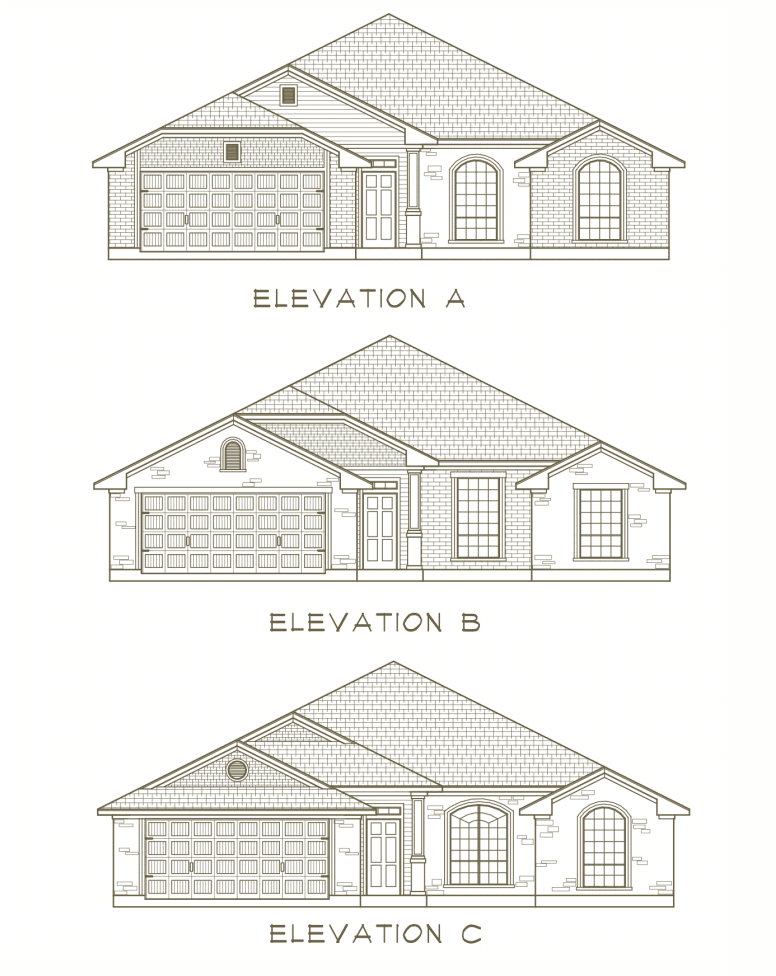 Exterior featured in the Pease River By Ashford Homes in Killeen, TX
