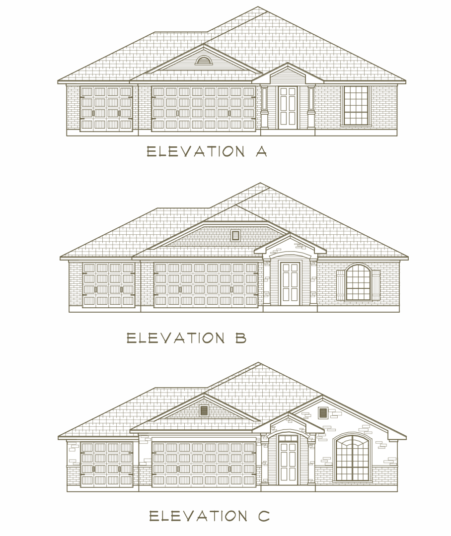 Exterior featured in the San Bernard River By Ashford Homes in Killeen, TX