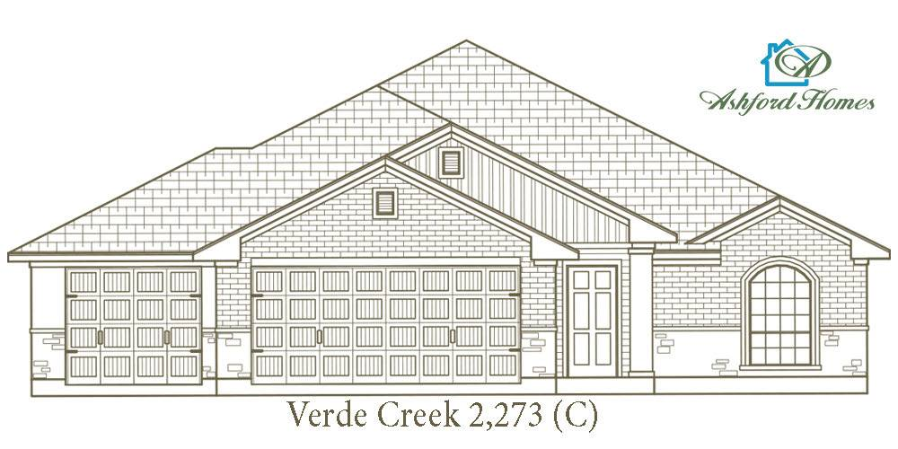 Exterior featured in the Verde Creek By Ashford Homes in Killeen, TX