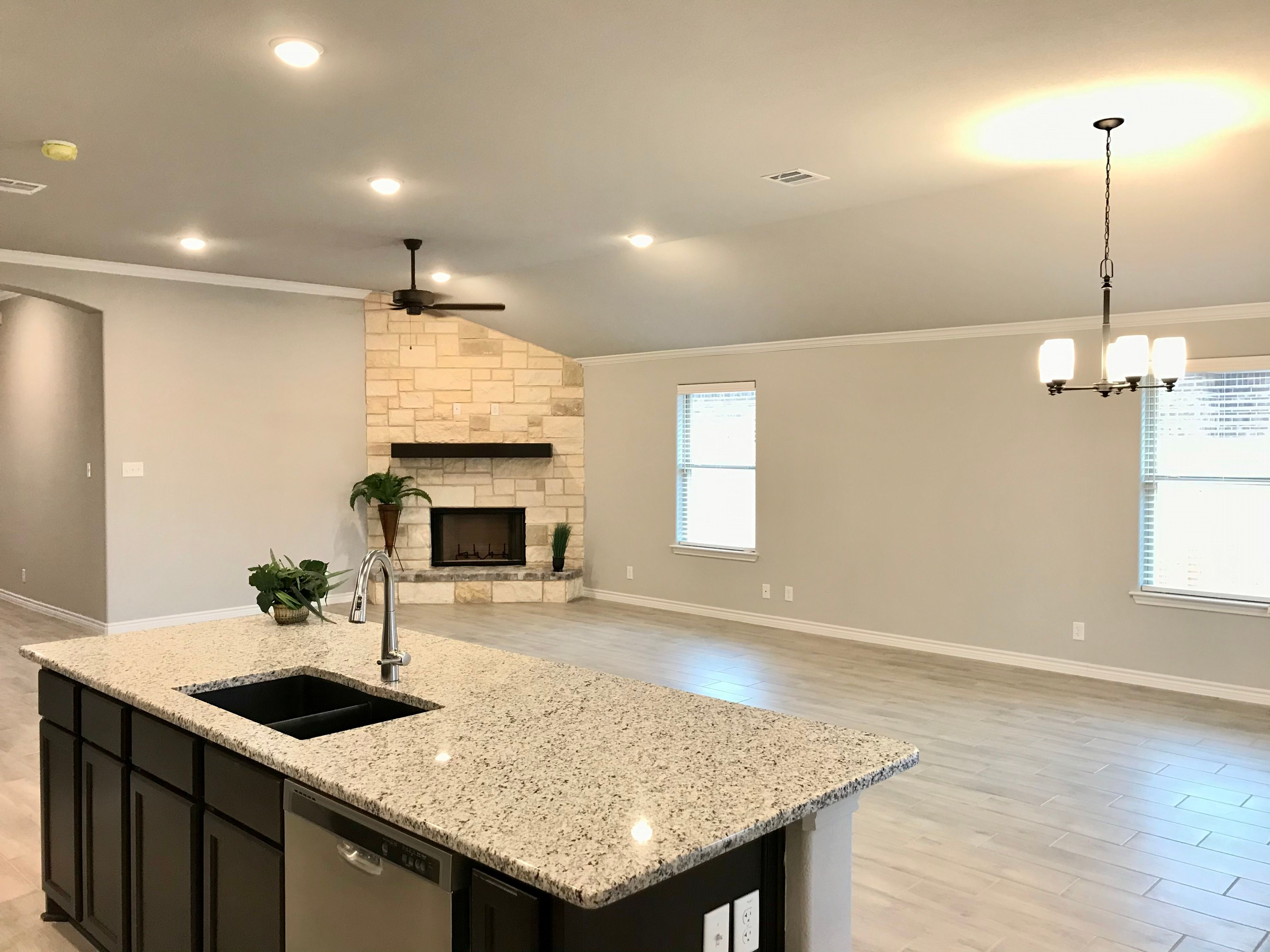 Kitchen featured in the San Bernard River By Ashford Homes in Killeen, TX