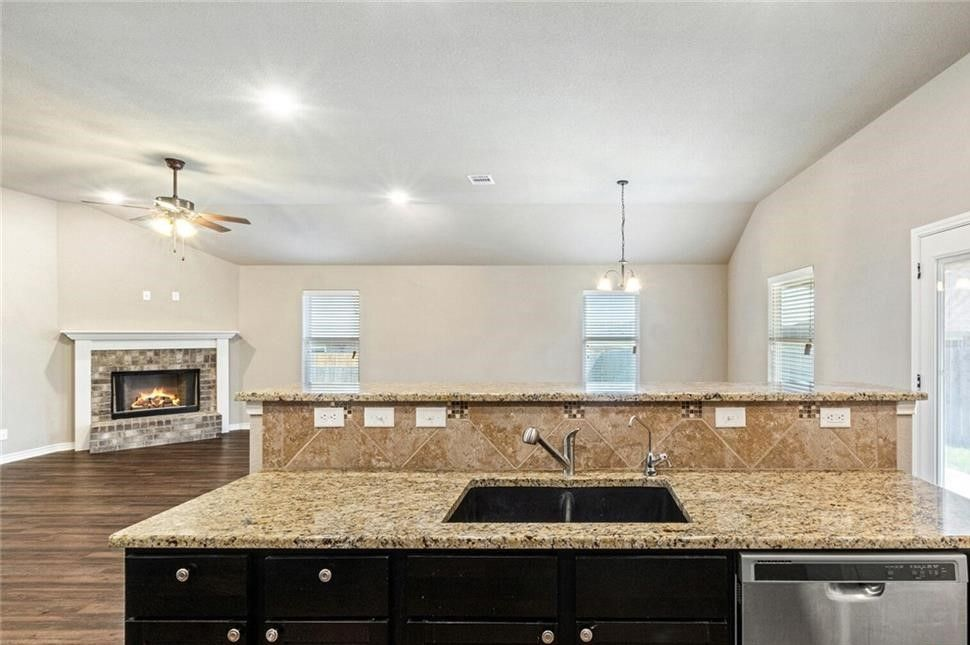 Kitchen featured in the San Marcos River By Ashford Homes in Killeen, TX