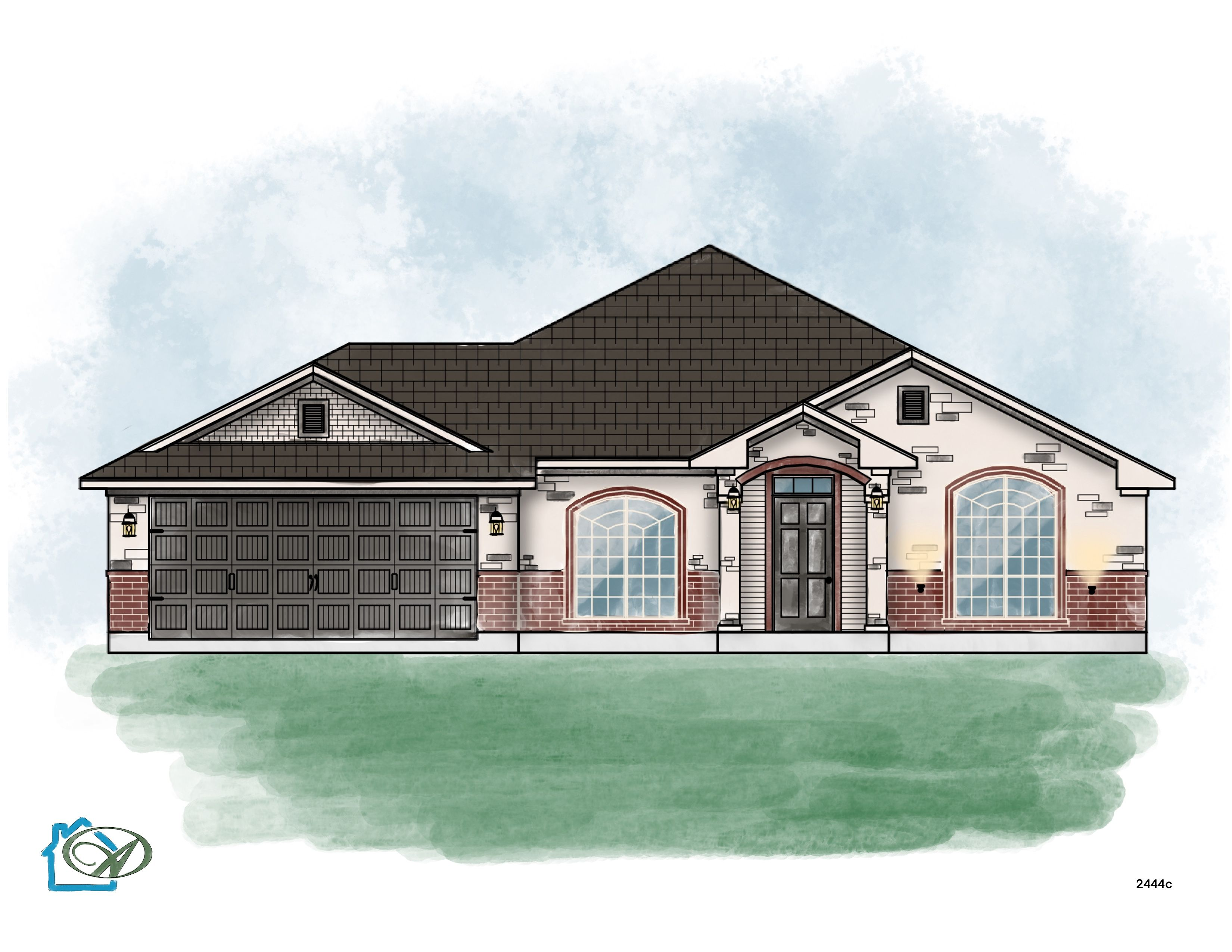 Exterior featured in the San Marcos River By Ashford Homes in Killeen, TX