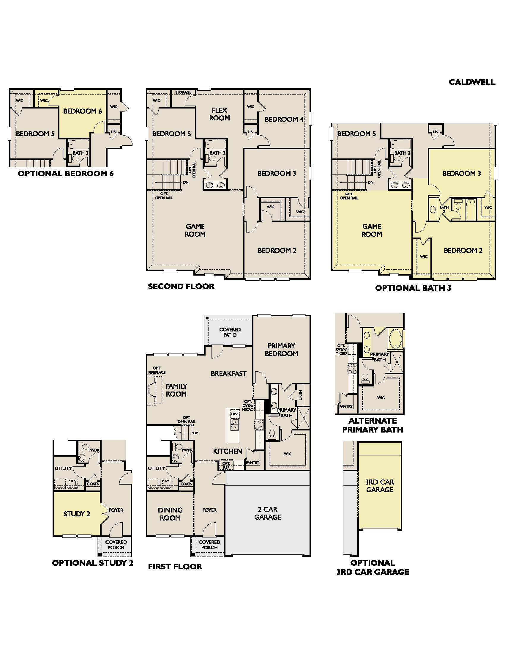 Caldwell Plan At Meadow Run In Melissa Tx By Ashton Woods