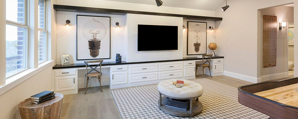Living Area featured in the Sawgrass By Ashton Woods in Dallas, TX