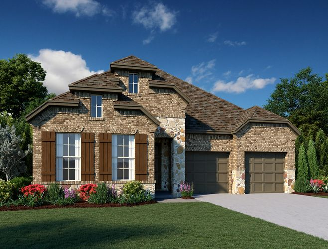 Exterior featured in the Waterville By Ashton Woods in Dallas, TX