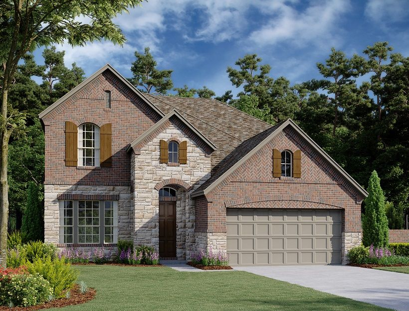 Exterior featured in the Bandera By Ashton Woods in Fort Worth, TX