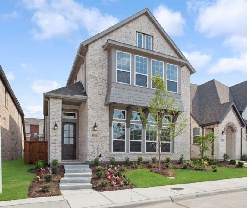 Exterior featured in the Curtis By Ashton Woods in Dallas, TX