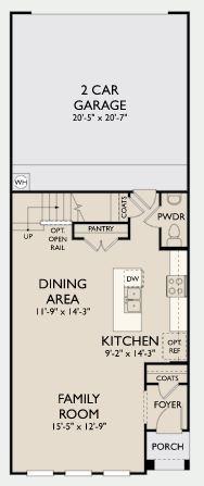 Floor Plan:Legends Crossing - Duke Plan Image 1