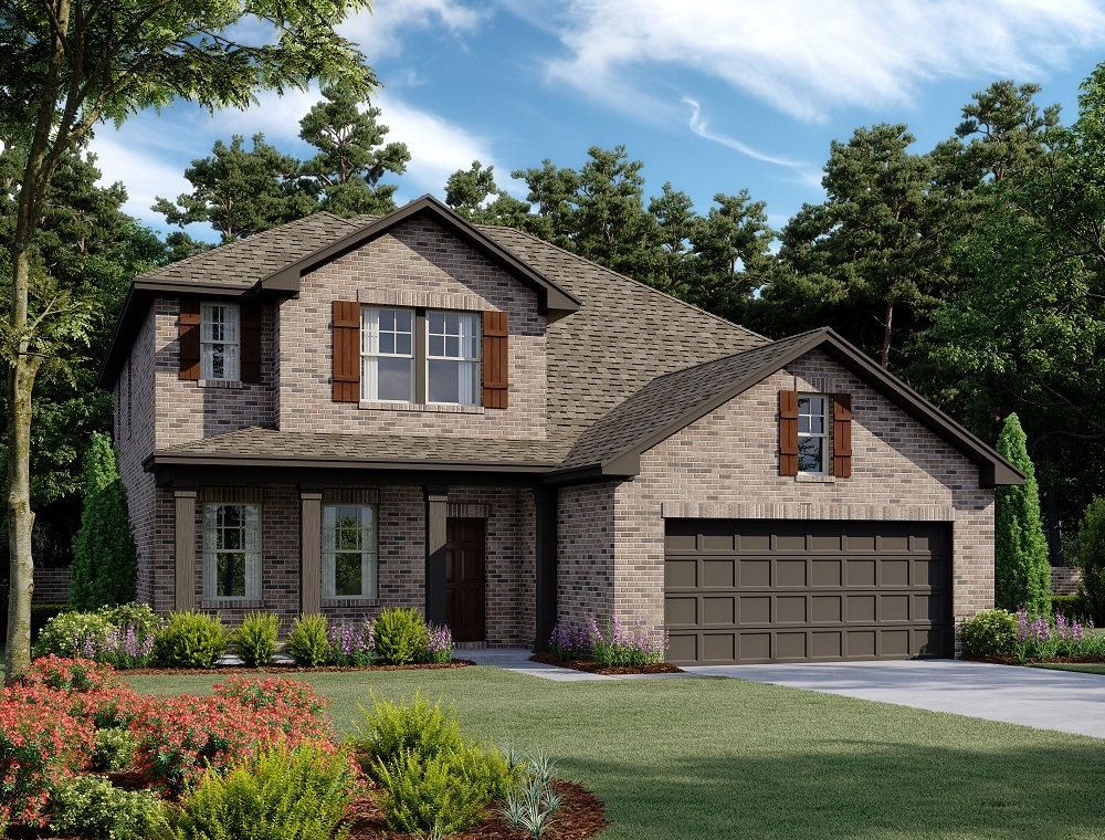 Exterior featured in the Grayson By Ashton Woods in Dallas, TX