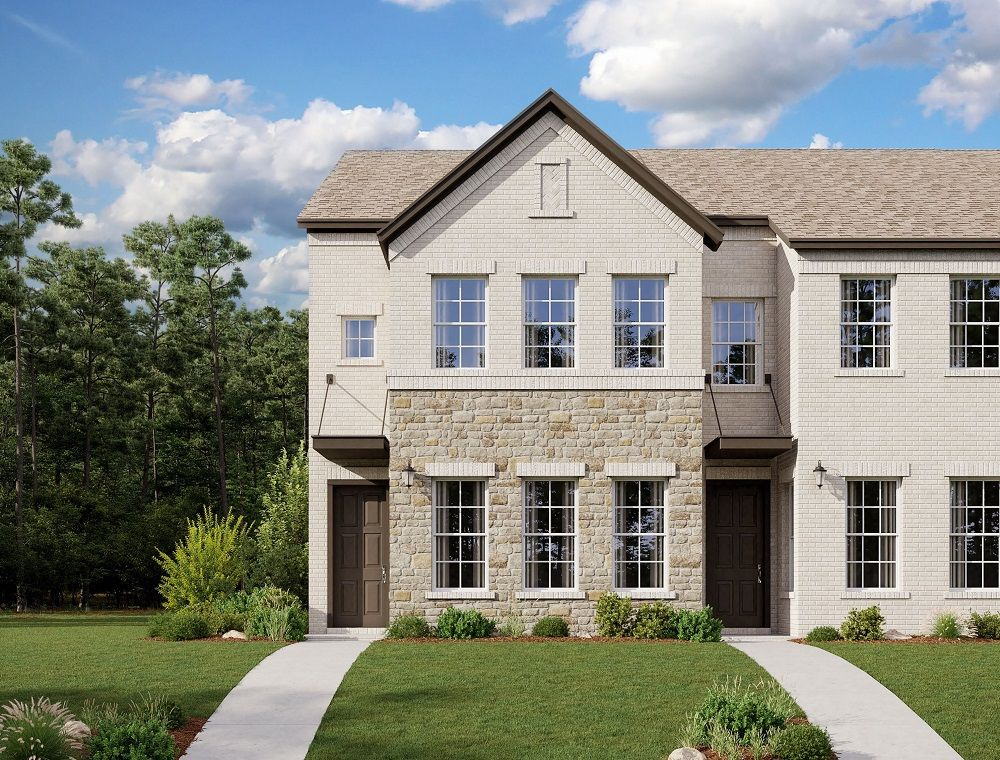 Exterior featured in the Northwestern By Ashton Woods in Dallas, TX