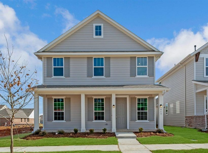 Exterior featured in the Kyle By Ashton Woods in Dallas, TX