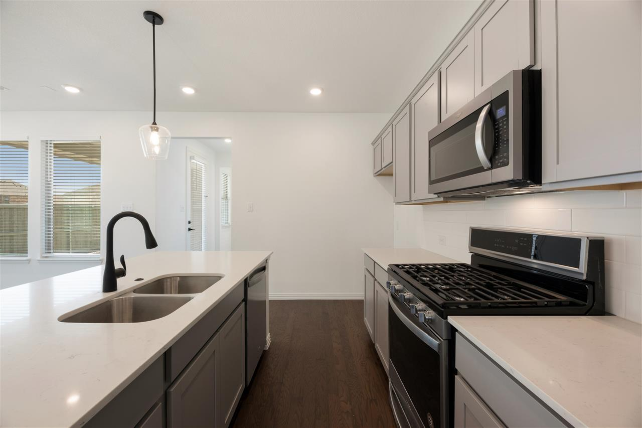 Kitchen featured in the Kyle By Ashton Woods in Dallas, TX