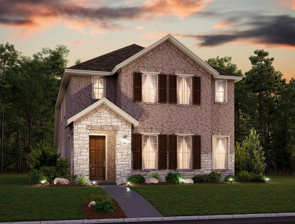 Exterior featured in the Aubrey By Ashton Woods in Dallas, TX