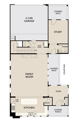 Floor Plan:Romero First floor