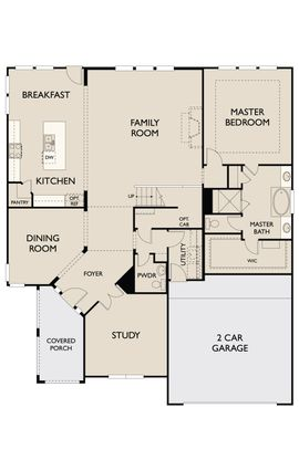 Floor Plan:Brookfield First floor