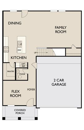Floor Plan:Jefferson 1st Floor