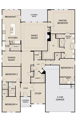 Floor Plan:Carolina First Floor