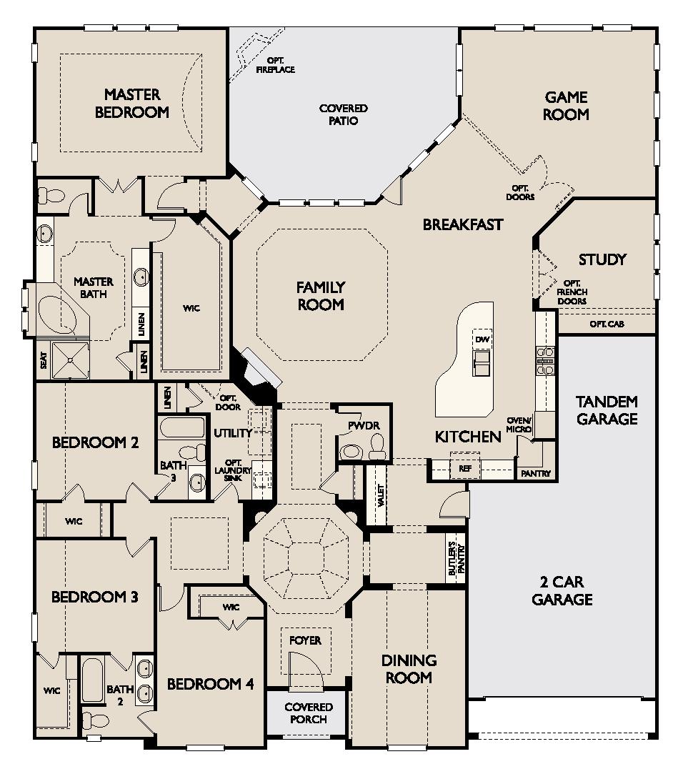 My Favorite Ashton Woods Floor Plan Sq Ft Ranch Marvellous ...