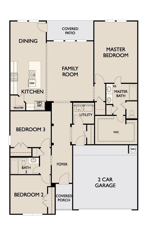 Floor Plan:Oxford First Floor