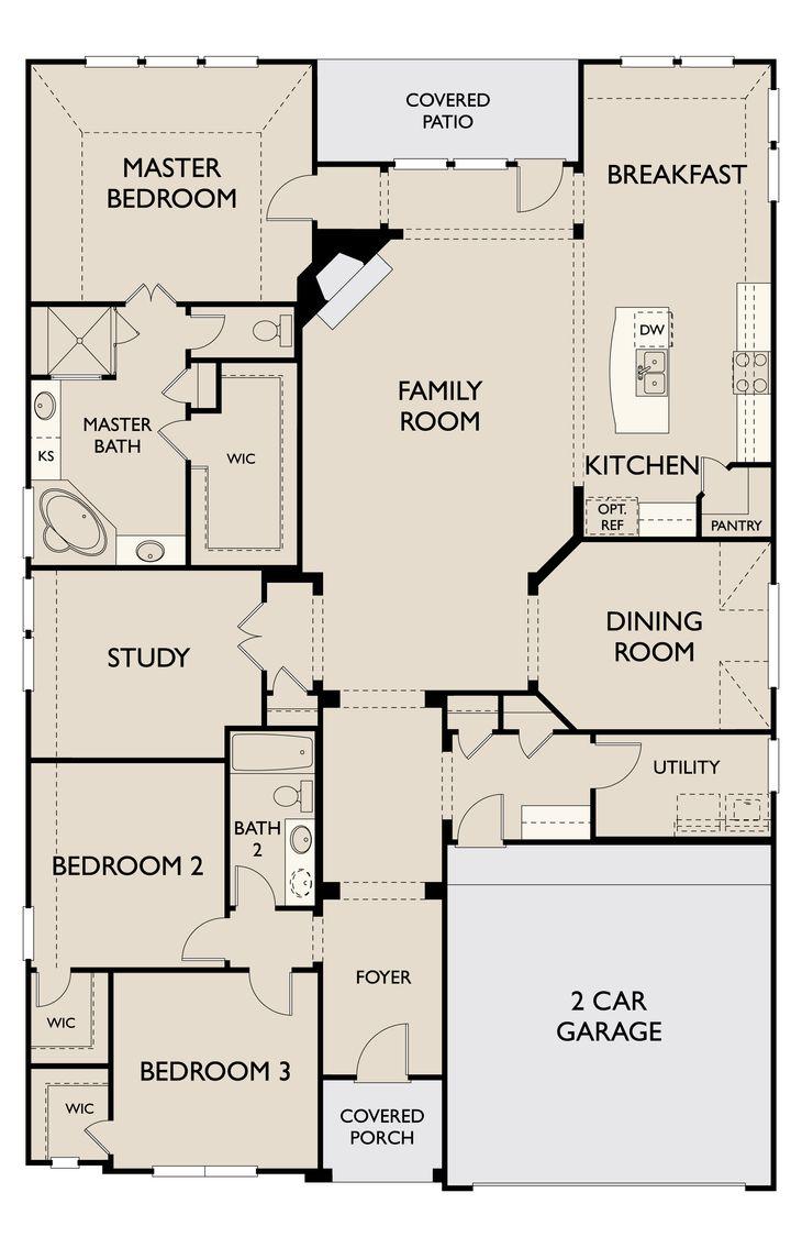 Floor Plan:Hudson First Floor