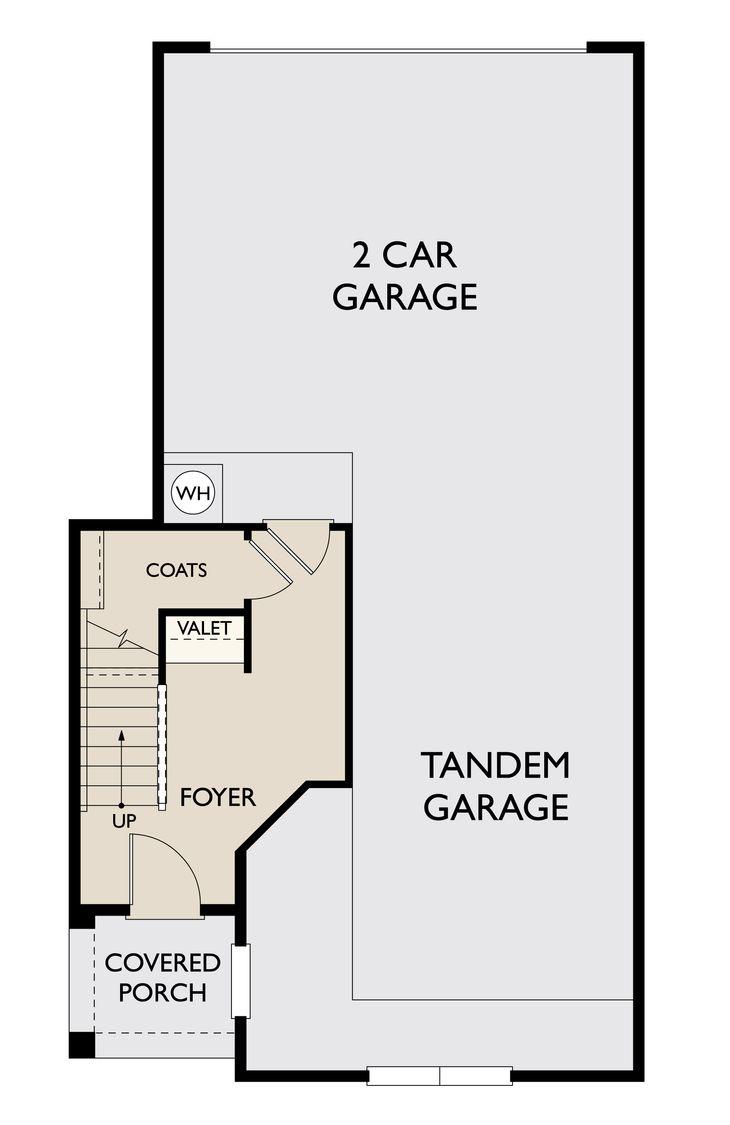 Floor Plan:Preston First Floor