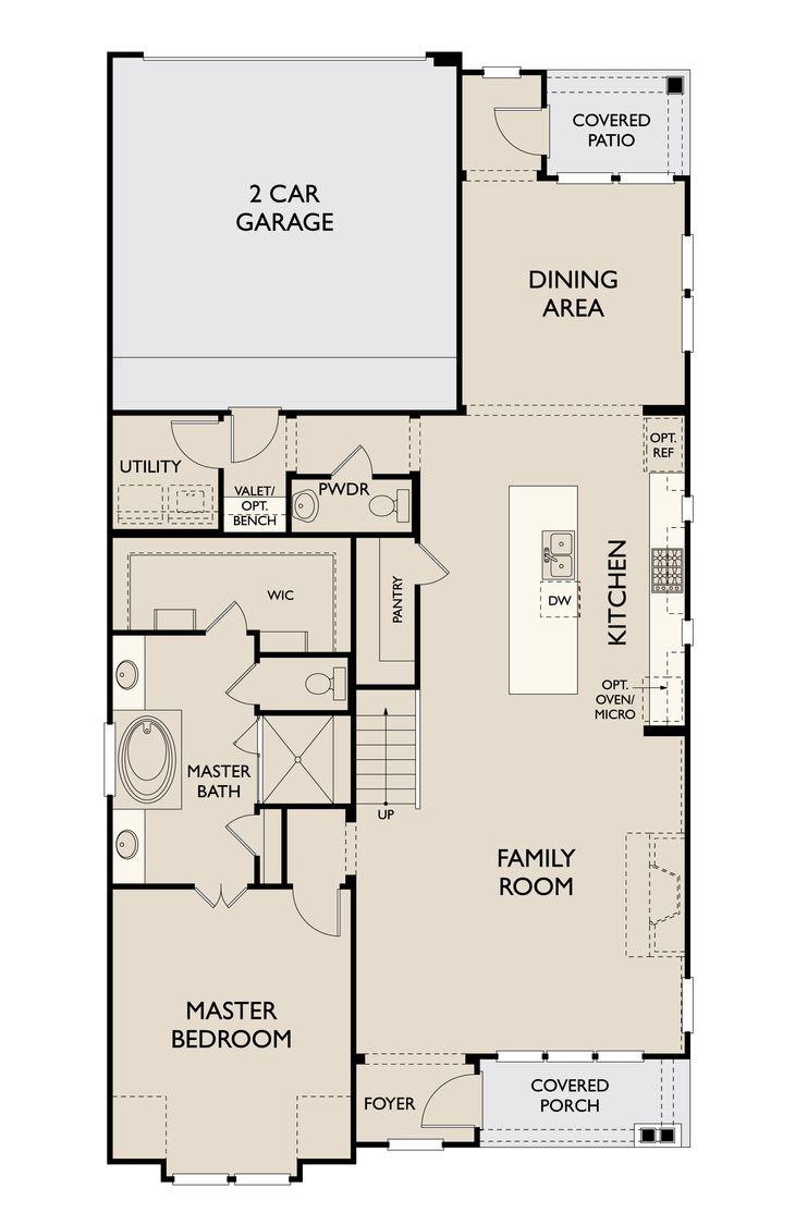 Floor Plan:Valle First Floor