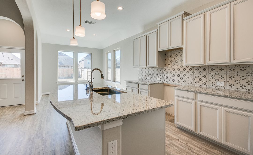 Kitchen-in-Hudson-at-Lakes of Bella Terra West-in-Richmond