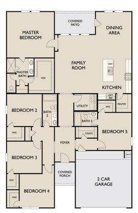 Floor Plan:Harris First Floor