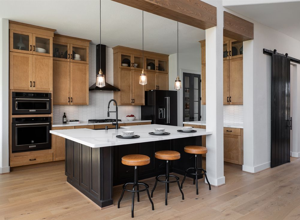 Kitchen featured in the William By Ashton Woods in Houston, TX