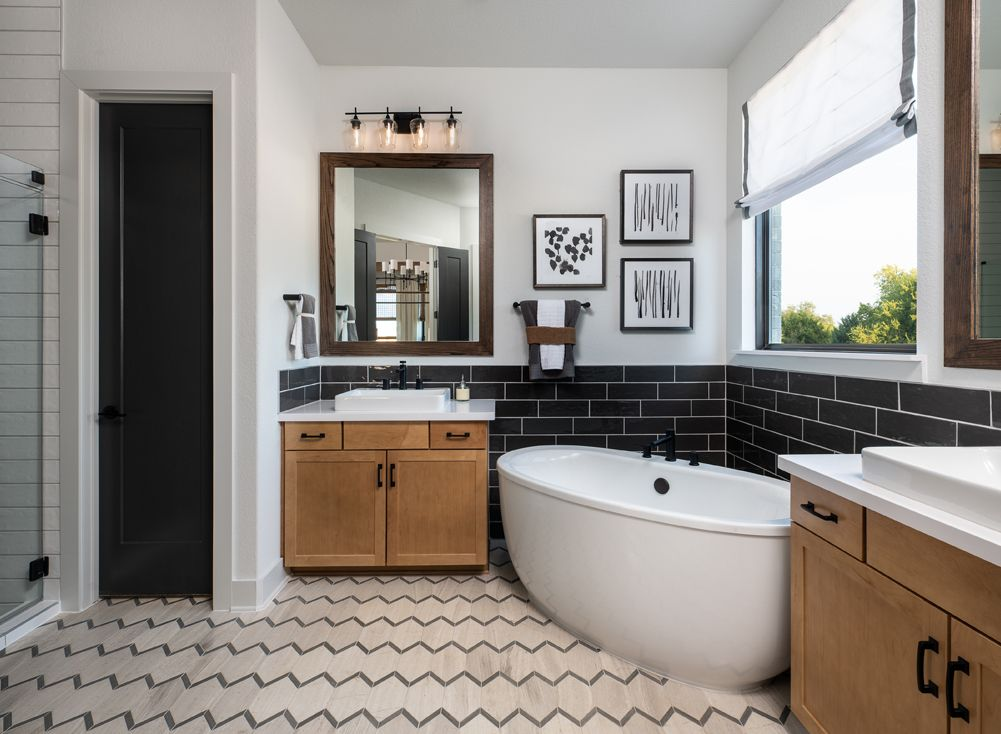 Bathroom featured in the William By Ashton Woods in Houston, TX