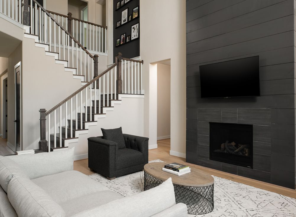 Living Area featured in the William By Ashton Woods in Houston, TX