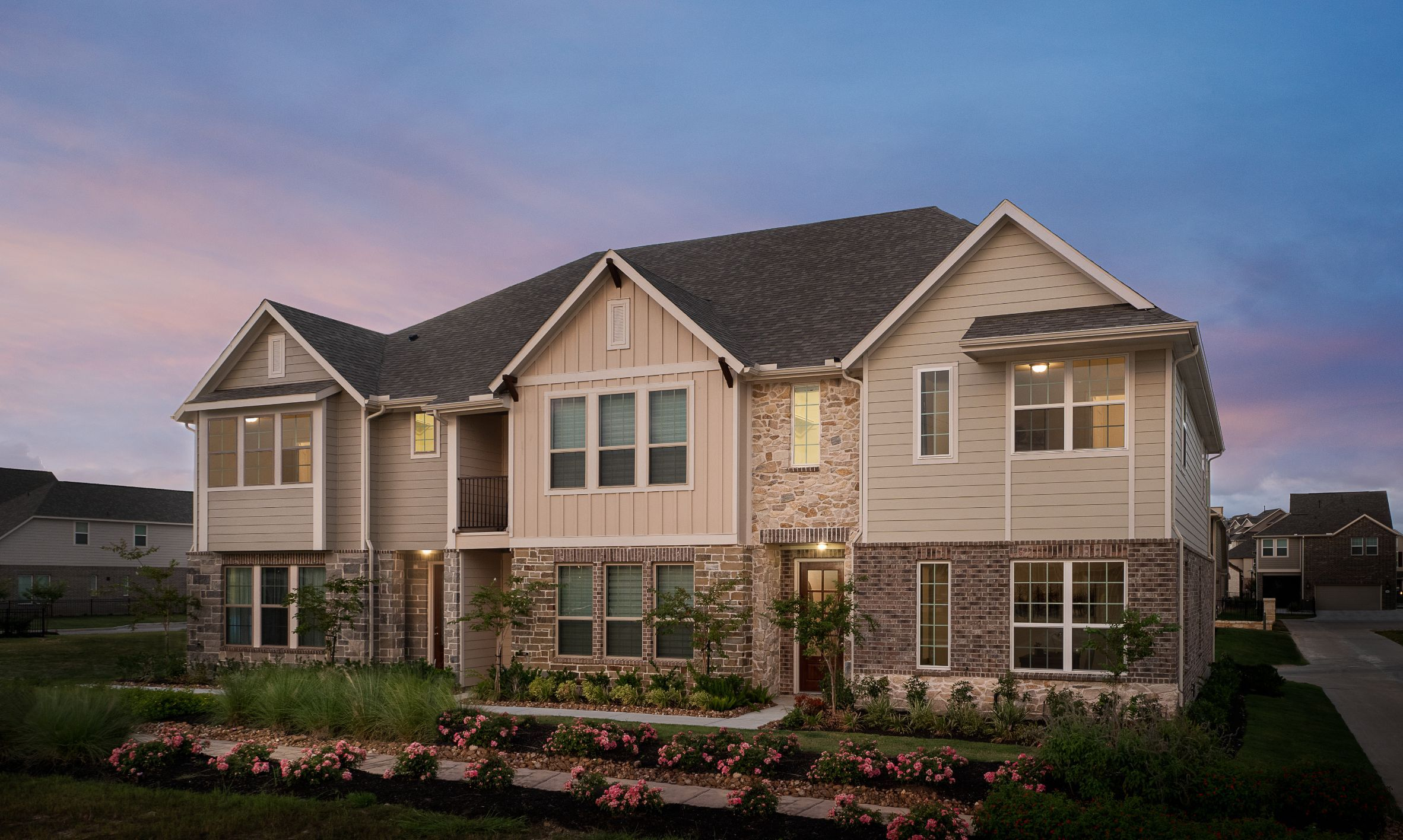 Exterior featured in the Serena By Ashton Woods in Houston, TX