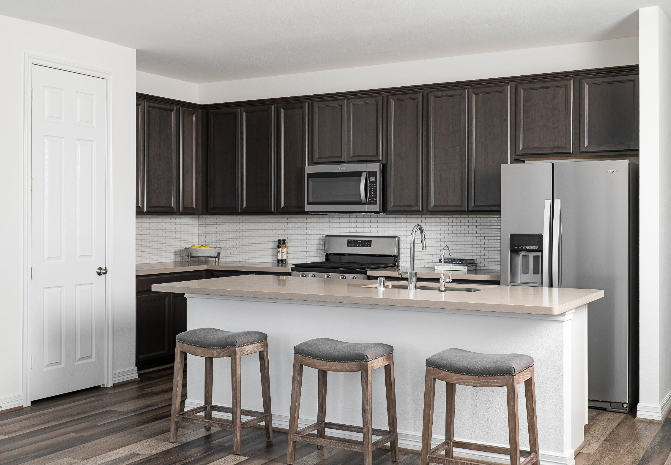 Kitchen featured in the Serena By Ashton Woods in Houston, TX