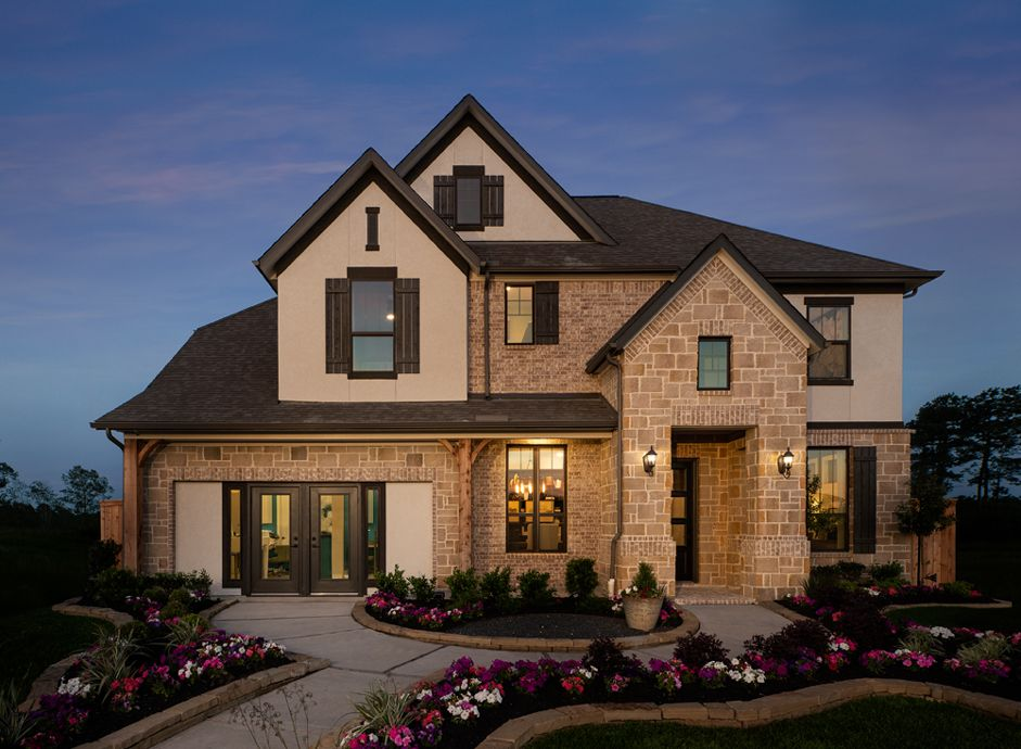 Exterior featured in the William By Ashton Woods in Houston, TX