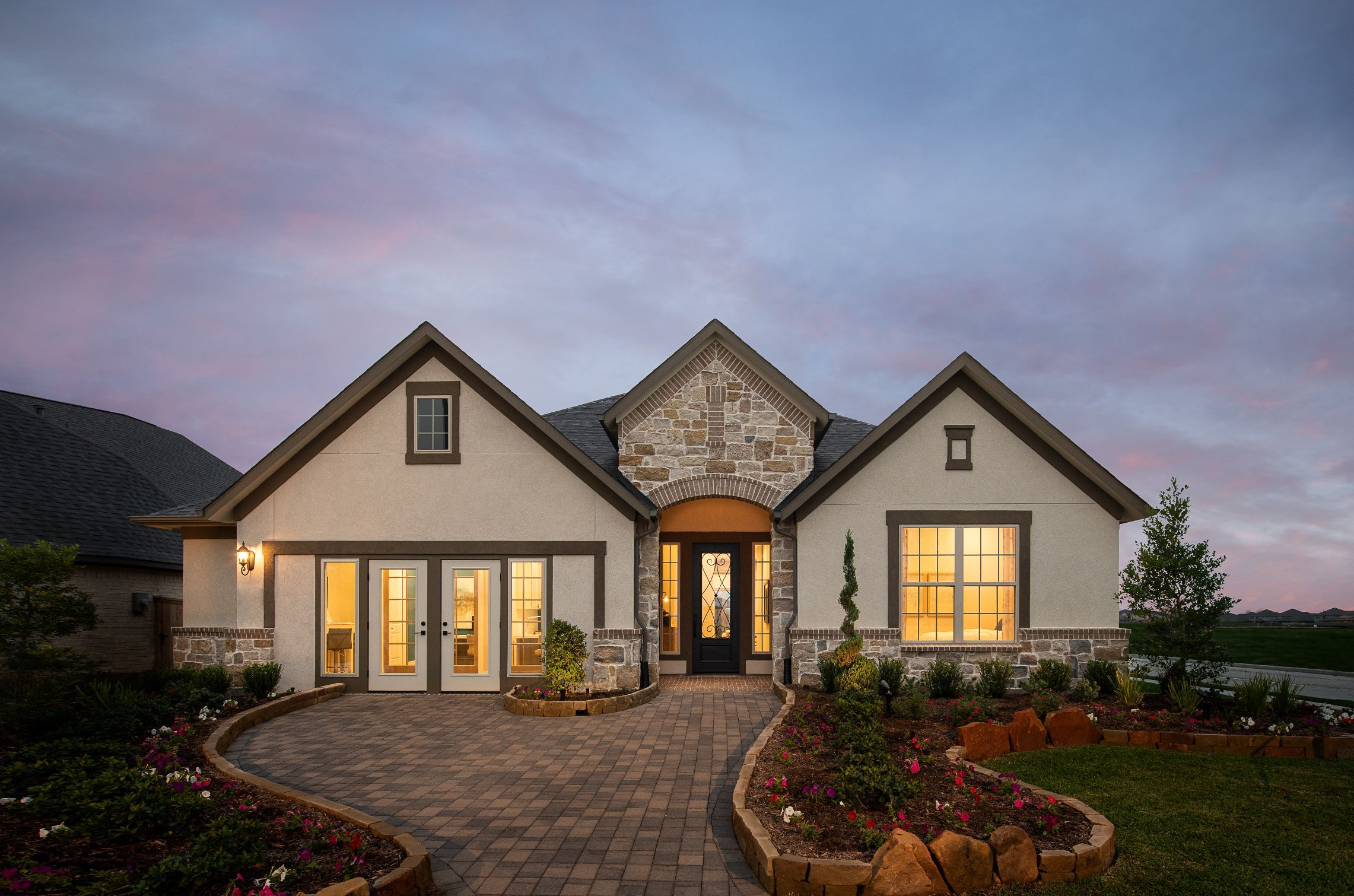Exterior featured in the Kerrville By Ashton Woods in Houston, TX