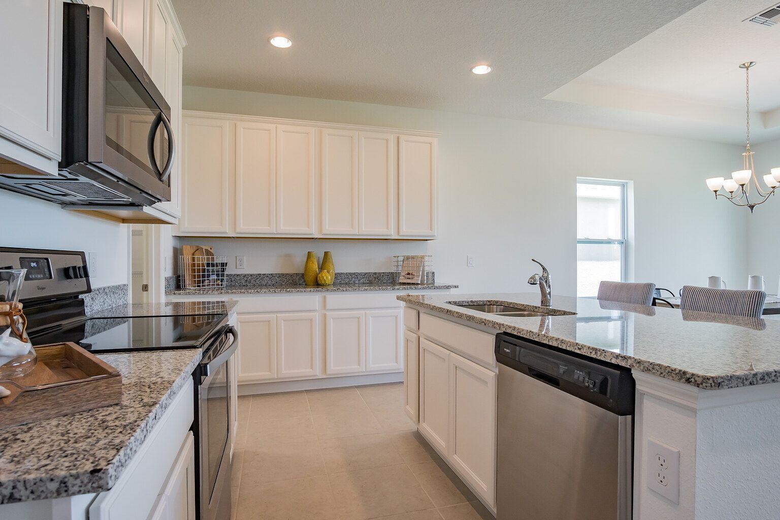 Kitchen featured in the Reef By Ashton Woods in Daytona Beach, FL