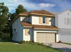 Dario - Estates at Sweetwater Country Club Townhomes: Apopka, Florida - Ashton Woods