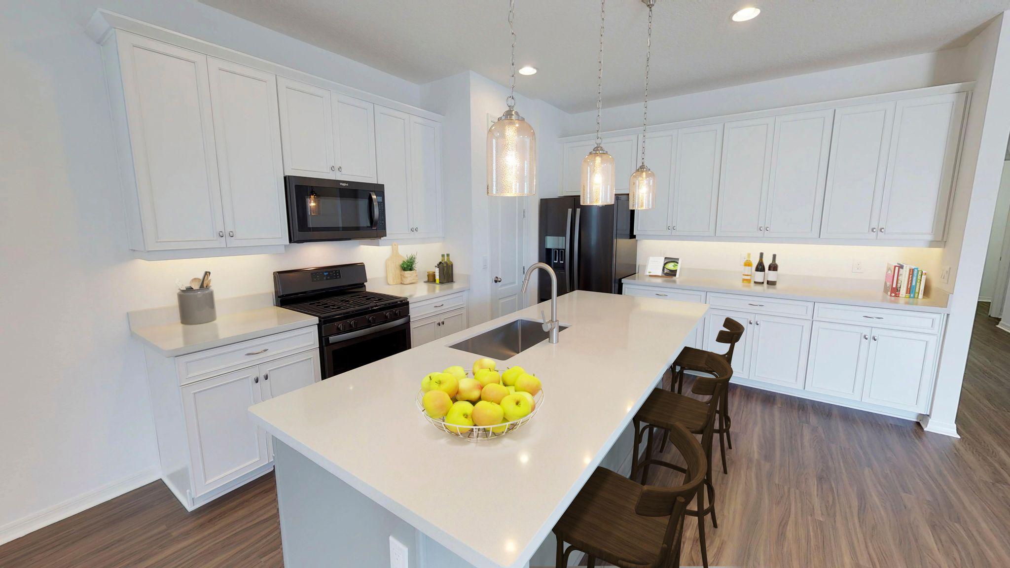 Kitchen featured in the Berkeley II By Ashton Woods in Orlando, FL