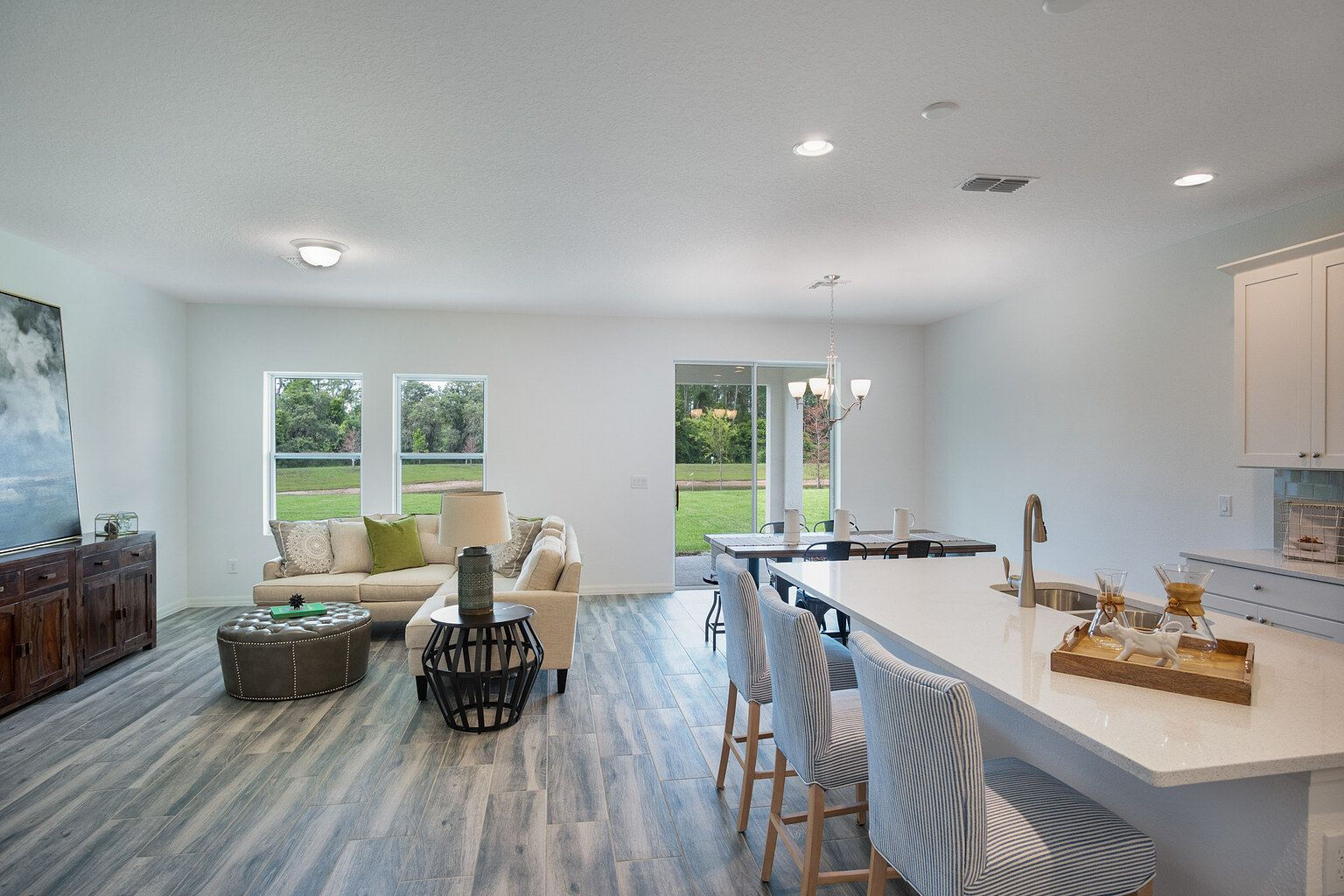 Living Area featured in the Teton By Ashton Woods in Daytona Beach, FL