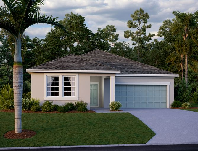 Exterior featured in the Brickell By Ashton Woods in Orlando, FL