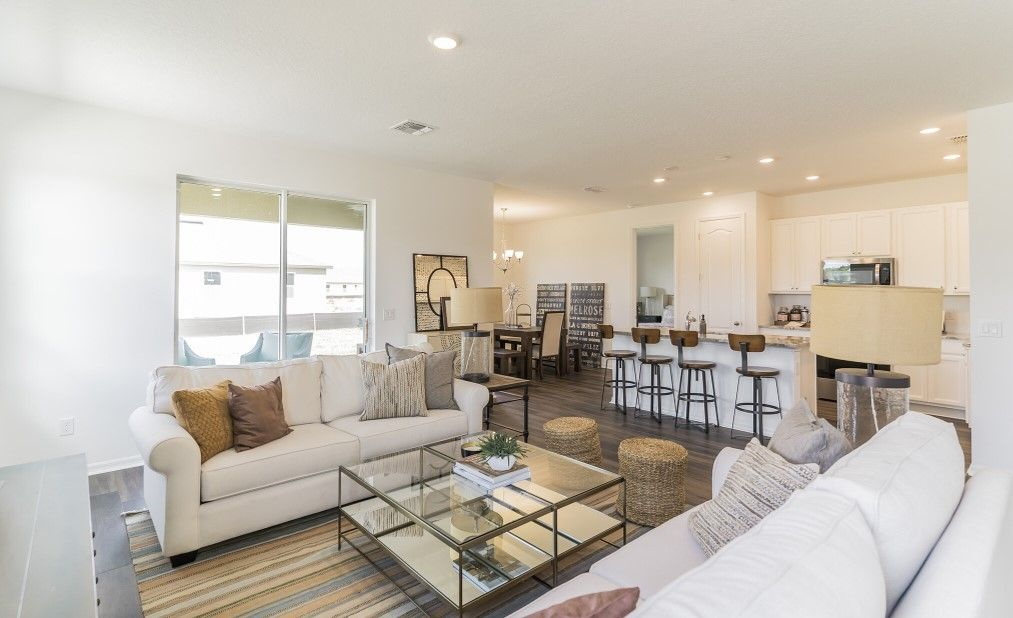 Living Area featured in the Brickell By Ashton Woods in Orlando, FL