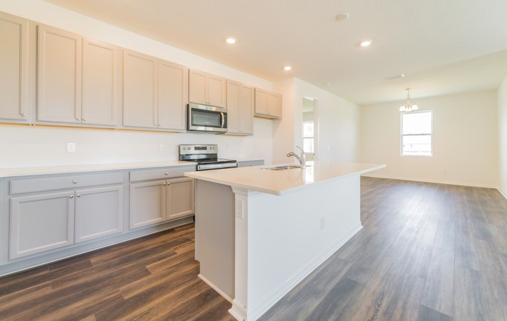 Kitchen featured in the Douglas By Ashton Woods in Orlando, FL